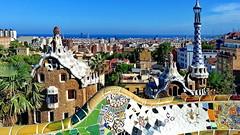 BCN Parque Gell (gerard eder) Tags: world barcelona city travel parque espaa spain europa europe ciudades gaudi gaud antonio stdte catalua spanien reise metropole gell