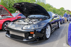 Toyota Supra | F3 SUP (Jgalea14) Tags: black car canon automobile outdoor sunday may engine lancashire toyota vehicle preston motor f3 phantom sup meet supercar 22nd supra winger fulwood 100d pscm f3sup