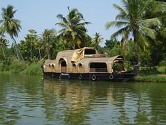 Houseboat, Kumarakom (Aidan McRae Thomson) Tags: india boat houseboat kerala kumarakom