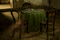 IMG_1280 (MiraJM) Tags: people table furniture room nostalgia photograph lonely furnishings oldtime settable