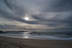 Bucolic Dream (CeliaQuintillan) Tags: ocean sky costa beach clouds landscape coast mar cloudy playa paisaje galicia cielo nubes pontevedra atlntico ocano ogrove alanzada