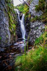 Soothing Sounds of Water (Celtic-Wanderer) Tags: waterfall stream watercourse rocks countryside outdoors landscape river creek gwynedd wales nikon d5000