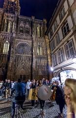 Strasbourg - Les coulisses de la fte de la musique 2016 (Emmanuel Cattier -) Tags: france church europa europe kirche strasbourg cathdrale alsace continent glise tambour lieux humanit fetedelamusique plante basrhin evnements