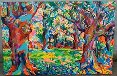 carbayera en el Botnico de Gijn (#Jarama) Tags: color colour asturias pop popart expressionism impressionism gijon