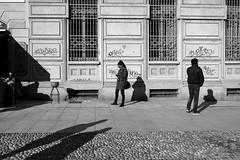 #Milano 2015 (Archineos) Tags: street blackandwhite bw blancoynegro monochrome shadows milano bn human biancoenero navigli ugovillani archineos thisishumanity