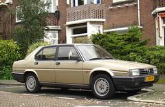 1985 Alfa Romeo 90 2.5 V6 Quadrifoglio Oro iniezione (rvandermaar) Tags: 25 alfa romeo 1985 alfaromeo 90 quadrifoglio iniezione alfa90 alfaromeo90 novante sidecode8 3zrs98
