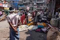 _IMG4489 (stoupaduck) Tags: delhi streetscene flowerseller olddelhi