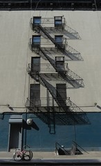 Escape from the East Village (Keith Michael NYC (1 Million+ Views)) Tags: nyc newyorkcity eastvillage ny manhattan fireescape