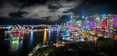 Colors of  Sydney Vivid 2016 (Young Ko) Tags: longexposure trip travel blue light vacation sky reflection texture night composition landscape interesting nikon colorful flickr nsw nightsky sydneyoperahouse sydneycircularquay vividsydney vividfestival vivid2016 2016vividfestival