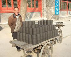 Marchand de charbon (franoisjoly85) Tags: china beijing cart coal merchant chine marchand charette pkin charbon