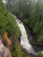 Lame Falls (MNphotoScenes) Tags: statepark wisconsin northshore disappointed lakesuperior mnphotoscenes
