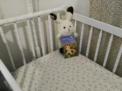 Yesterday (StarsApart) Tags: cradle bunny book baby infant newborn