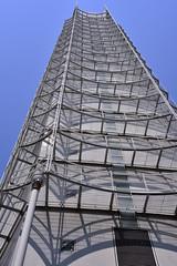 White Building (naitokz) Tags: blue sky white building japan hotel yokohama  bldg     washingtonhotel   yokohamaisezakichowashingtonhotel