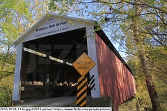 2015-10-16 1156 (Badger 23 / jezevec) Tags: pictures travel bridge vacation tourism arquitetura architecture rural america puente photography photo arquitectura midwest unitedstates image photos indiana images ponte american covered coveredbridge architektur pont brug thingstodo brcke   architettura architectuur arkitektur 1100  destinations midwestern architektura silta   arhitektura ponticello pontcouvert  pontecoberta        arhitektuur overdektebrug   lvka puentecubierto berdachtebrcke stavebnictv overdkketbro katettusilta    dekketbroen pokrytemostu  omfattasbro