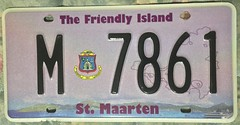 ST. MAARTEN 2014 ---LICENSE PLATE (woody1778a) Tags: cartags caribbean island st maarten 2011 2014 licenseplate numberplate mycollection myhobby woody