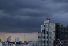 Heavy Load (jcbkk1956) Tags: storm rain skyline clouds buildings thailand nikon cityscape bangkok hirise 1870mmf3545 thonglo d3300