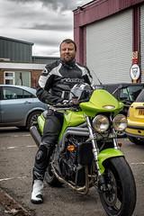 Triumph Speed Triple 1 (77 GR) Tags: england unitedkingdom triumph gb derby speedtriple canon7dmarkii easyridermotorcycletraining