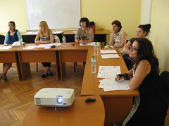 """EMEE workshop for museum professionals on """"bridging the gap"""" at Bulgarian National Polytechnic Museum • <a style=""""font-size:0.8em;"""" href=""""http://www.flickr.com/photos/109442170@N03/27736657630/"""" target=""""_blank"""">View on Flickr</a>"""