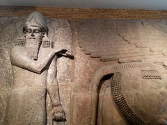 Colossal Assyrian Statue 2 (The Popular Consciousness) Tags: uk greatbritain england london ancient unitedkingdom iraq historic relief britishmuseum colossal assyria assyrian nimrud 800bc colossalassyrianstatue