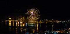 Fuochi d'artificio di San Giovanni 2016 a Vado Ligure [4] (Tiziano Caviglia) Tags: sea port lights mare fireworks liguria porto luci fuochidartificio marligure vadoligure rivieradellepalme portovado