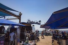 Route 66 Swag (etzel42) Tags: ocean california santa ca pier santamonica socal monica boardwalk westcoast