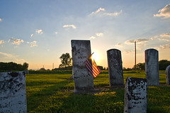 Wheeler Cemetery (ramseybuckeye) Tags: life road county sunset ohio sky art cemetery state pentax route wheeler rd ritchie 501 wapak auglaize