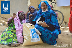Islamic Relief's Ramadan food package distribution in Chad