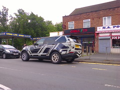 Spotted New Land Rover (Discovery Maybe?) (ukdaykev) Tags: new car june birmingham 4x4 unitedkingdom spyshot landrover discovery rangerover birminghamuk kingsheath offroader 2016 va16fkj