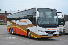 Expressway Rotherham BD16YGE. (EYBusman) Tags: road park new bus volvo coach south yorkshire east independent expressway brand 9700 coaches bridlington rotherham triaxle hilderthorpe eybusman b11r bd16yge