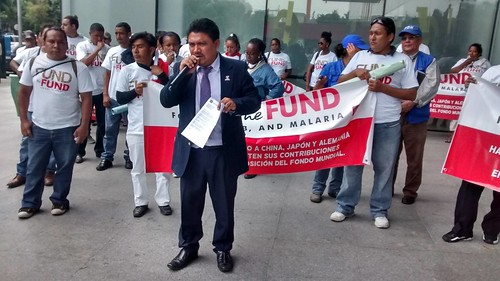 Fund the Fund Mobilizations June 13 – AHF Guatemala
