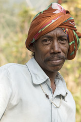 Baiga man (wietsej) Tags: india man minolta sony 100mm hills chhattisgarh baiga maikal a77ii