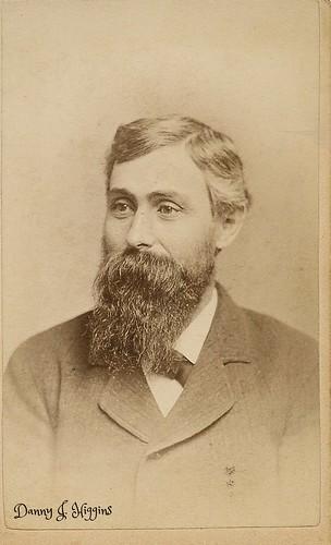 Bearded Man Of Towanda, Pennsylvania. SCAN7446