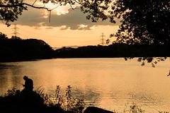 40Yamada Pond Park (anglo10) Tags: sunset japan