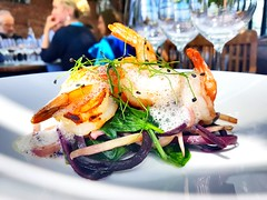 Seafood (kruz700) Tags: exotic lunch etterbeek restaurant fresh organic seafood food