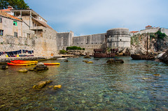Dubrovnik Old City (SeanSkiVT) Tags: old city blue orange mountains beach water town scenery europe kayak european pentax crystal croatia historic clear ii cannon terra limited cotta dubrovnik k5 da15 unesca k5ii