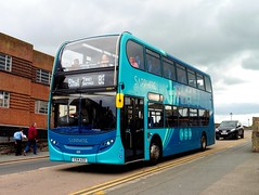 Arriva Sapphire 4555 - CX14 AZO (North West Transport Photos) Tags: bus 83 rhyl sapphire enviro arriva adl abw 4555 e400 alexanderdennis enviro400 e40d townservice arrivabuseswales arrivasapphire cx14azo