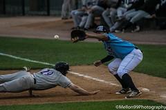 Close Call (Mellon 99) Tags: sports america baseball bat gloves american delaware base bases mellon99photography davemellon