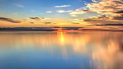 Long Island sunset (Thunder1203) Tags: bayside beach canon foreshore frankston longexposure longisland morningtonpeninsula portphillipbay sea sigma1020 sunset coastline victoria australia au hdr photomatix lr5 cc2016 adobe