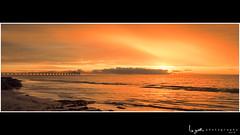 2016 - Landscape - Sunset - Largs - 02_24_04_WS.jpg (stevenlazar) Tags: ocean sunset beach clouds waves jetty australia adelaide southaustralia largs 2016