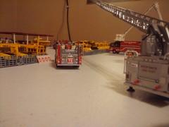 kickert school bus fire 2 of 13 (Kickert School Bus lines) Tags: school 3 chicago toy fire ic code model thomas international ce diecast chicagofiredepartment freightliner
