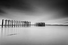 The March (w.mekwi photography [on the road]) Tags: longexposure blackandwhite bw march pier le minimalism craigendoran sep2 lee09gnd craigendoranpier nd110 sigma1020mmdchsm nikond7000 wmekwiphotography mekwicom