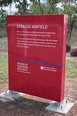 Strauss Airstrip, World War Two heritage site, S of Darwin, Northern Territory, Australia. (Michael J. Barritt) Tags: australia darwin northernterritory worldwartwo heritagesite straussairstrip michaeljbarrritt