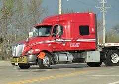 Roehl Trucking International ProStar (PublicServiceEquipmentFan) Tags: international trucking ihc roehl prostar