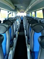 Interior of YN56NRJ (CoachDriverSteve) Tags: london leather coach north pb r1 executive luxury hire harrow edgware hearn pinner nrj hrn irizar hearns yn56 r1hrn v1phc yn56nrj