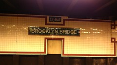 Brooklyn Half 2013 - Waiting for the  #4 Train to Prospect Park (O.Viera) Tags: nyc newyorkcity brooklyn marathon running racing brooklynbridge jogging jtrain halfmarathon 262 131 nyrr 12marathon 4stop flickroid woodhavenny newyorkroadrunner cityhallbrooklynbridgesubwaystop