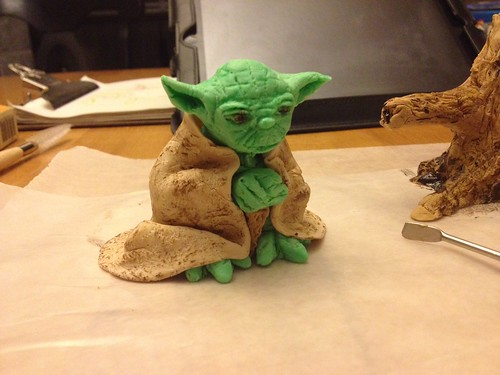 Yoda during his creation