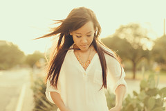 Bao (NicolaiMcCrary) Tags: sunset girl dress transparent goldenhour