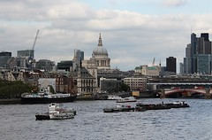 London Riverscape! (RiverCrouchWalker) Tags: bridge london river boats stpaulscathedral riverthames