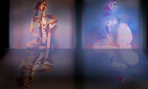 "Mujer Sentada, geometrización de Pablo Picasso (1953), abstracción de Roberto Real de León (2013). • <a style=""font-size:0.8em;"" href=""http://www.flickr.com/photos/30735181@N00/8815928122/"" target=""_blank"">View on Flickr</a>"