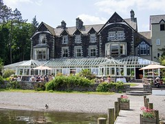 _6078387_m_F (Emiko and Daniel) Tags: summer lake water hotel lakedistrict olympus lakeside cumbria lakewindermere omd lakesidehotel 2013 em5 lumix20mmf17